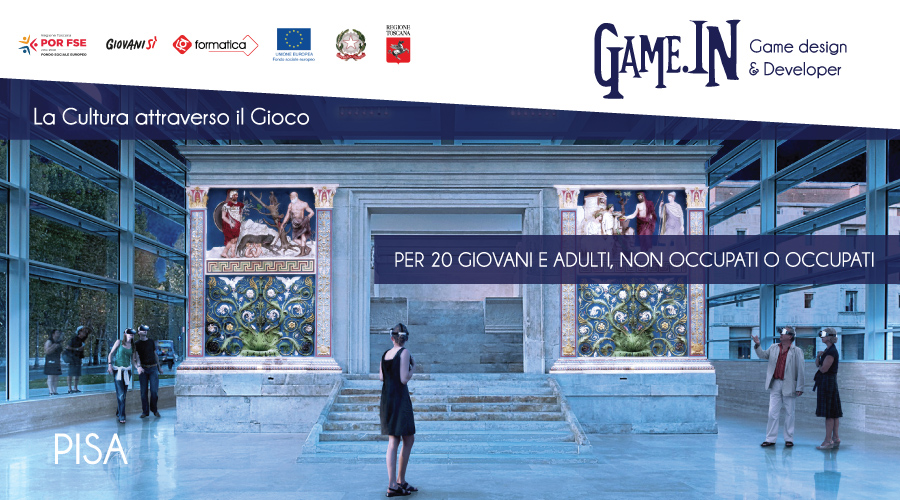 CORSO GRATUITO A PISA - Game.IN: Game Designer and developer